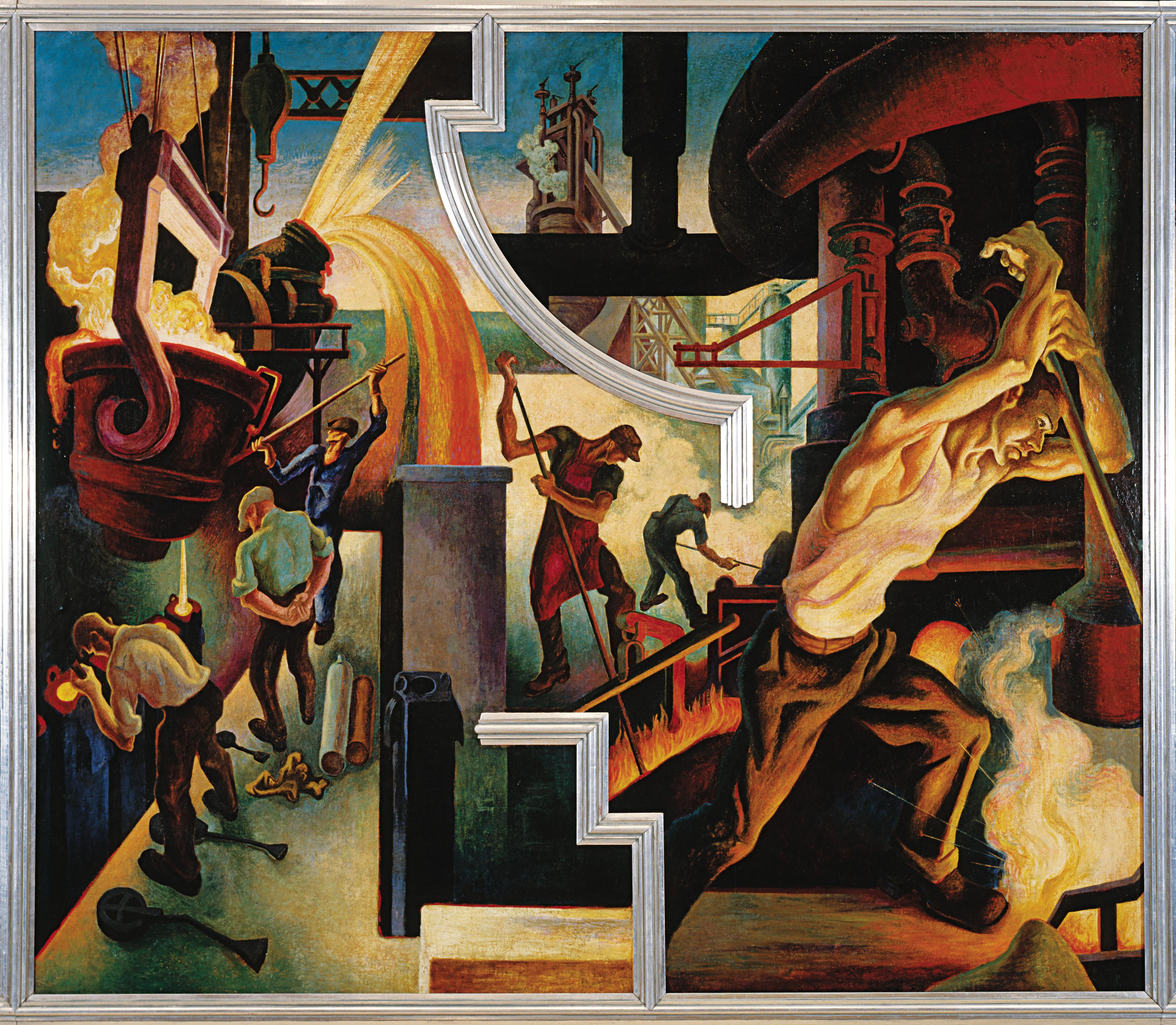The story behind thomas hart benton s incredible for Americas best paint