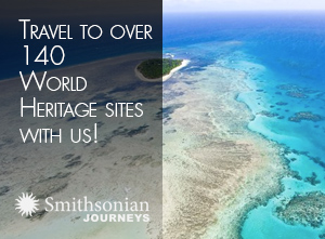 Travel to over 140 World Heritage Sites with us