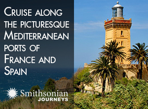 Cruise along the picturesque
