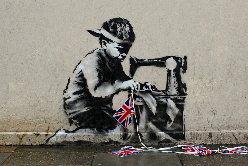 Who owns this half million dollar banksy mural smart for Banksy mural painted over