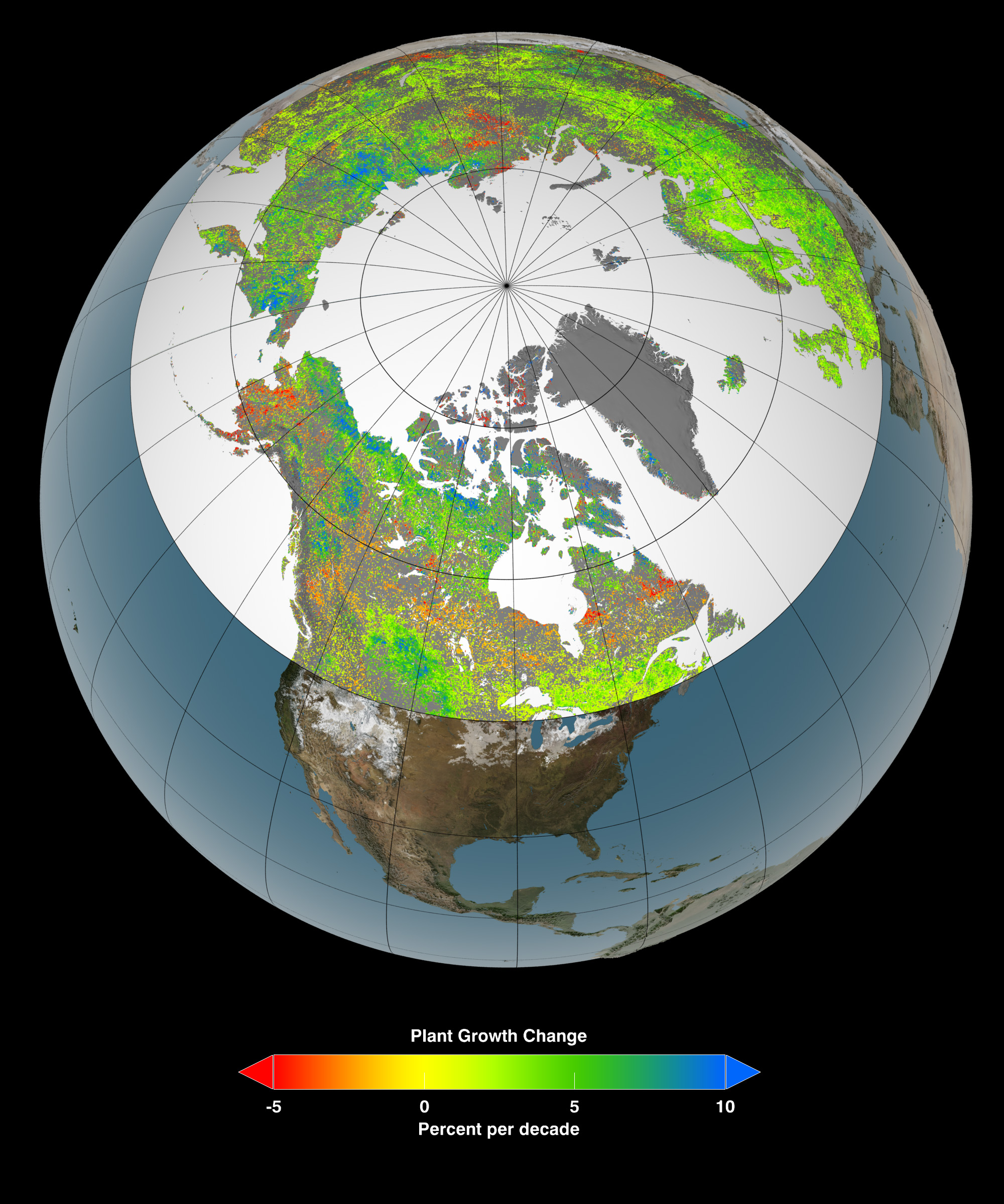 A Warming Climate Is Turning the Arctic Green | Smart News ...