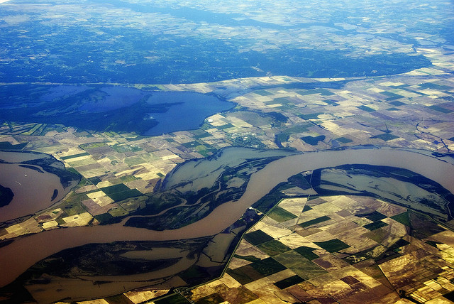 the background of the most important river in the us the mississippi river