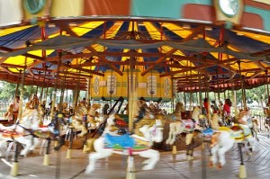 A carousel on the National Mall has delivered decades of summertime fun.
