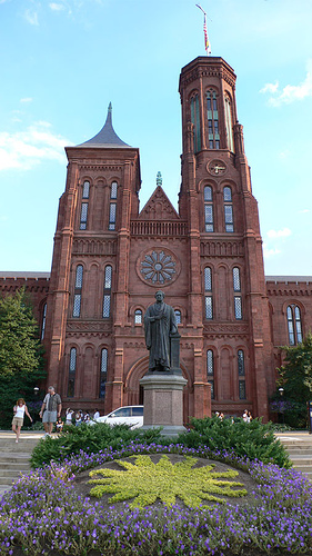 Fact or Fiction: The two most popular residents of the Smithsonian Castle were two barn owls, named Increase and Diffusion. Photo courtesy of flickr user Metal Chris.
