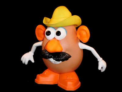 Cowboy-western Mr. Potato Head, courtesy Flickr user Patrick Q