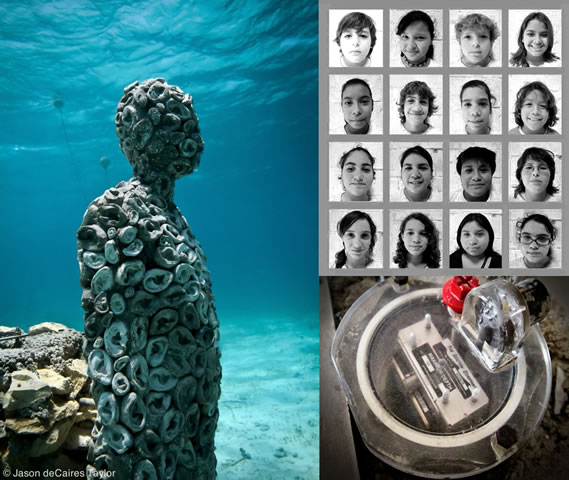 All Ears! An Underwater Sculpture that Listens | Science ...