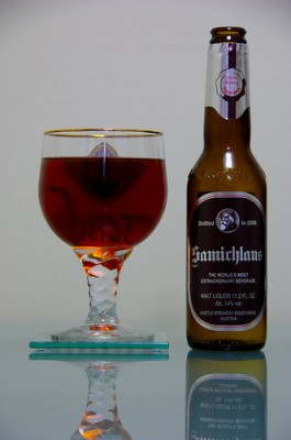 Schloss Eggenberg's Samichlaus beer, courtesy of Flickr user skibler