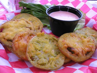 Fried green tomatoes, courtesy of Flickr user ssss