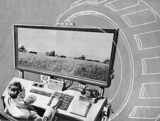 1931 S Remote Controlled Farm Of The Future History
