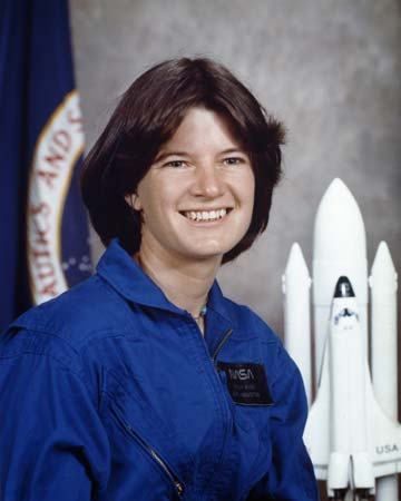 Astronaut Sally Ride has the distinction of being the first American woman to fly in space.