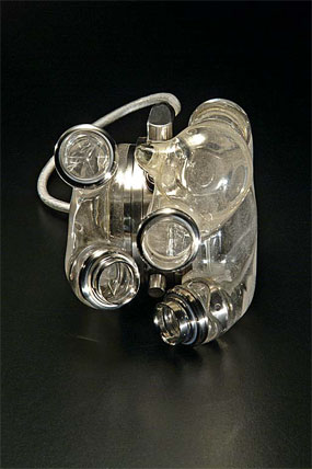 The National Museum of American History has, in its collection, an AbioCor Total Artificial Heart, the first-ever electro-hydraulic heart to be implanted in a human. Photo courtesy of NMAH.