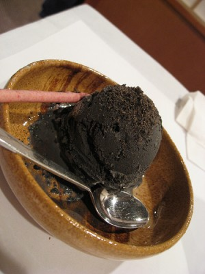 Black sesame ice cream, courtesy of Flickr user Sifu_Renka