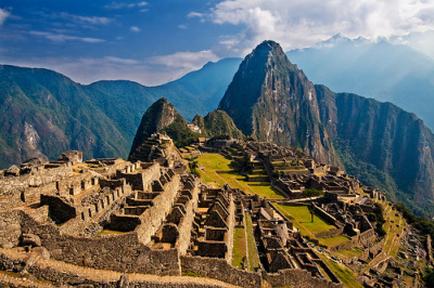 Machu Picchu, photo courtesy of flickr user szeke