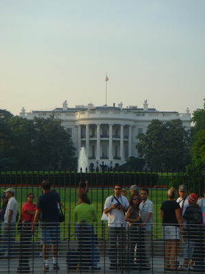 The south side of the White House, courtesy of Flickr user ricardo.martins