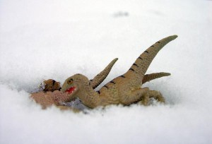 But are these dinosaurs cold-blooded? Courtesy Flickr user Blush Response