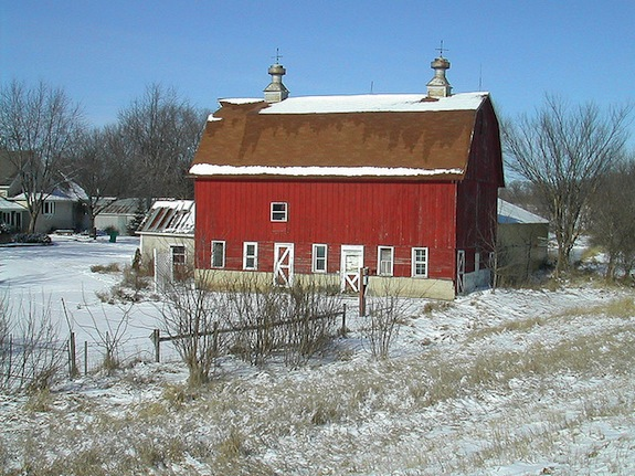 barns are painted red because kaiserscience