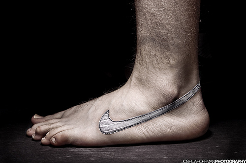 Shoes or no shoes? That is the question these days. Photo courtesy of flickr user joshuahoffmanphoto.