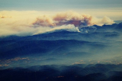 An active 2008 wildfire season affected some northern California wineries. Image courtesy of Flickr user rskoon