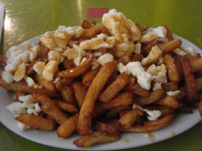 Only found in Canada: poutine. Courtesy of Flickr user kenudigit