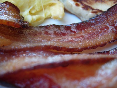 How do you like your bacon? Courtesy of Flickr user misterjt