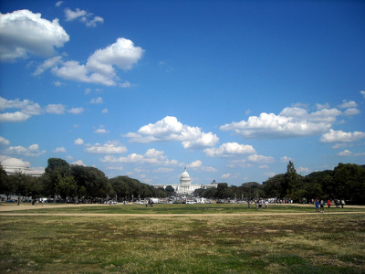 The National Mall, courtesy of flickr user NCinDC