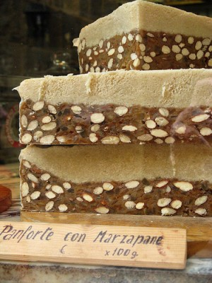 Panforte, a specialty of Italy. Courtesy of Flickr user James.Whisker