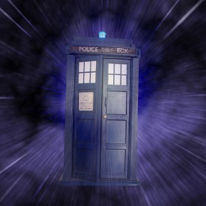 The TARDIS (Time And Relative Dimension(s) In Space) from Doctor Who, courtesy of Flickr user aussiegal