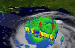 Hurricane Katrina, 2005, NASA's Tropical Rainfall Measuring Mission