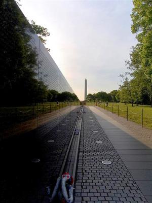 Vietnam Memorial, photo courtesy of Flickr user ehpien