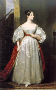 Augusta Ada King, Countess of Lovelace (via wikimedia commons)