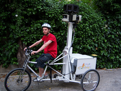 The National Mall is on a short list of places that may be photographed by the Google Trike. Photo courtesy of flickr user yufujamar.