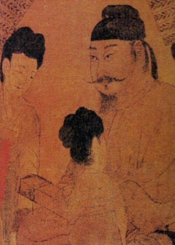 "The Tang emperor Taizong was the first to promote Wu, whom he gave the nickname ""Fair Flatterer""–a reference not to the girl's personal qualities but to the lyrics of a popular song of the day."