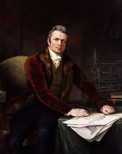 Marc Brunel, father of the celebrated shipbuilder and railway engineer Isambard, was a notable engineer in his own right