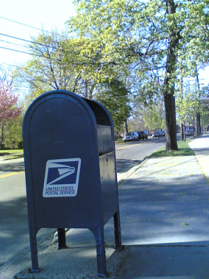The U.S. Postal Service is scaling back on mailboxes, photo courtesy of flickr user Poldavo (Alex)