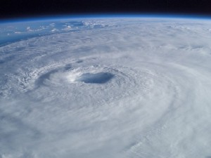 Hurricane Isabel as seen from space (courtesy of NASA)