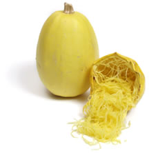Spaghetti squash, courtesy of Flickr user BreezeDebris