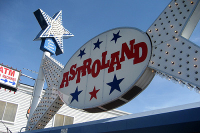The star at the entrance to Coney Island's Astroland, courtesy of Flickr user wallyg