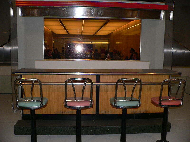 The counte rtop from the Greensboro sit-in, a non-violent protest during the civil rights movement. (Courtesy of Mark Pellegrini/Wikimedia Commons.)