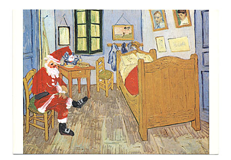 Pen america handmade christmas cards sent by famous artists to image m4hsunfo
