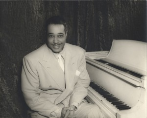 Duke Ellington, born on April 29, 1903. Image courtesy of Smithsonian Institution