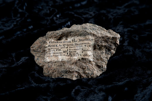The Story Behind Plymouth Rock At The Smithsonian