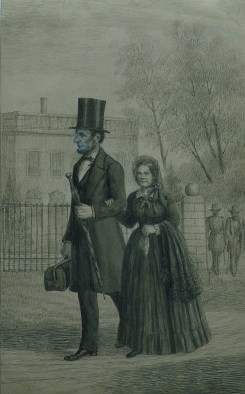 mary todd lincoln and abraham meet
