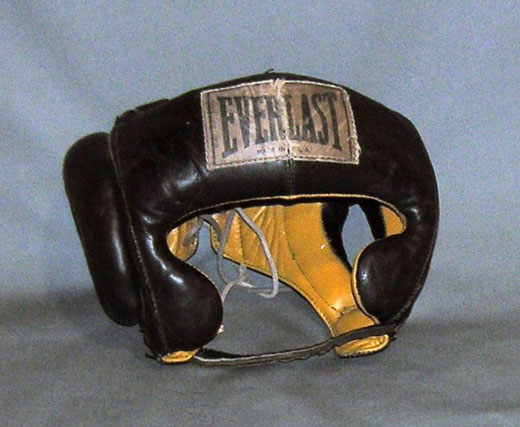 Muhammed Ali's headgear is one of the objects expected to go in the musem when it opens in 2015. Image courtesy of museum.