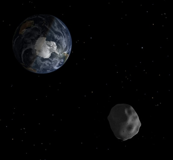 An Asteroid Will Skim Right By the Earth on Friday ...