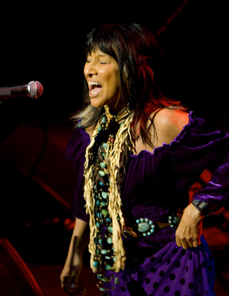 Buffy Sainte-Marie, circa 2000s. Photo by Marikka Nakk/Courtesy of Buffy Sainte-Marie