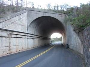 Inside this small tunnel just a mile north of the Golden Gate Bridge lies a stashed bottle of the author's 2008 homebrewed maple syrup mead. Photo by Alastair Bland.