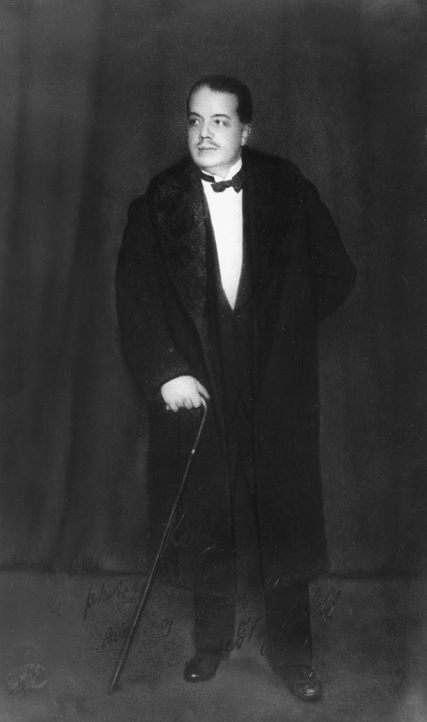 С.П. Дягилев (1872 - 1909)