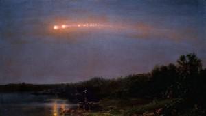 The Meteor of 1860 (courtesy of Judith Filenbaum Hernstadt)