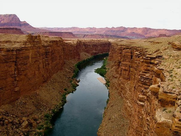 The Colorado River near Lee's Ferry