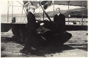 Glenn Curtiss and Henry Ford